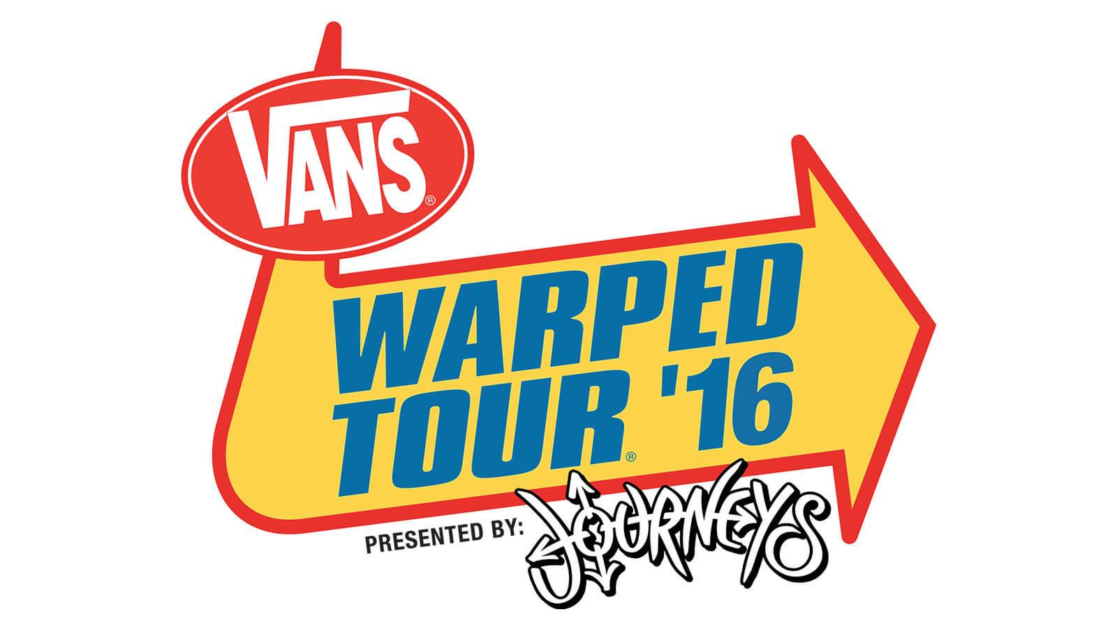 2016 Vans Warped Tour®, Presented by Journeys® Lineup To Be Revealed via Live Webcast From Campus Of Full Sail University - Hero image
