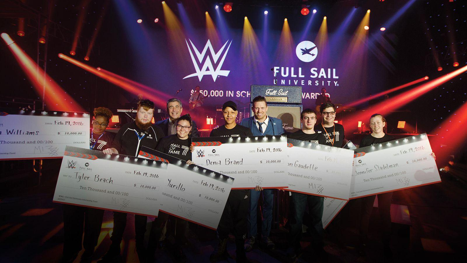 Full Sail University and WWE - Hero image