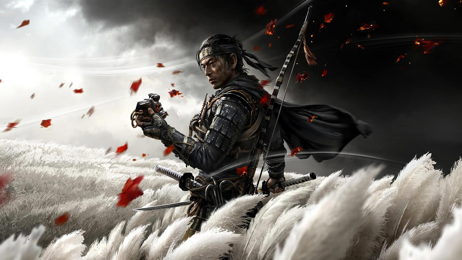 18 Full Sail Grads Credited on PS4's 'Ghost of Tsushima' - Hero image