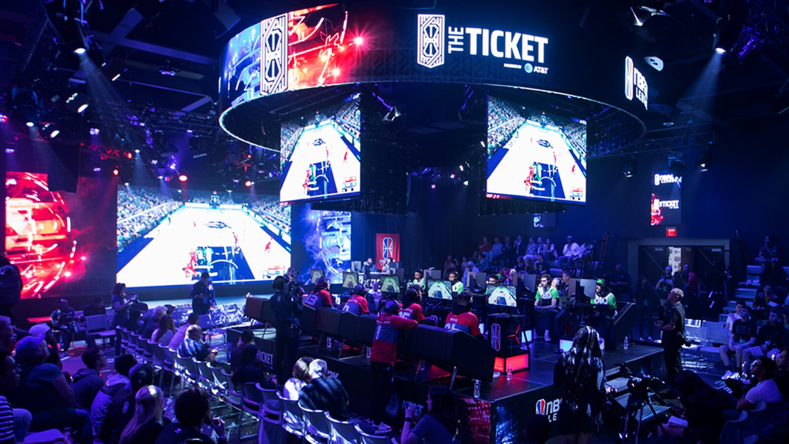 Full Sail Hosts NBA 2K League for 'The Ticket' Live from The Fortress - Hero image