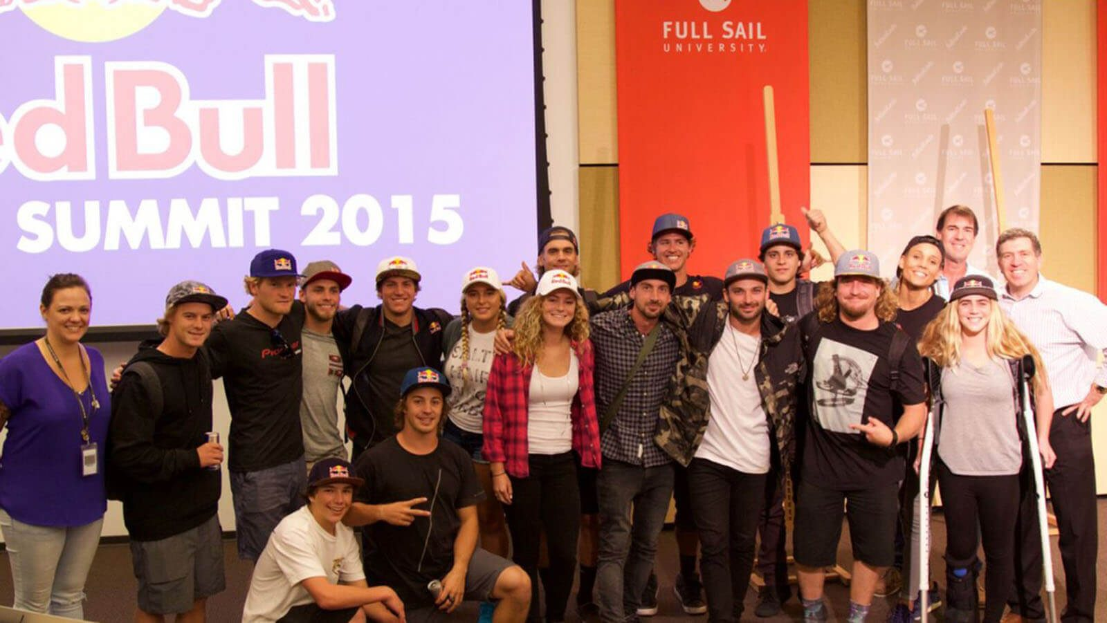 Full Sail University Collaborates with Red Bull to Host Athletes in Campus Workshops - Hero image