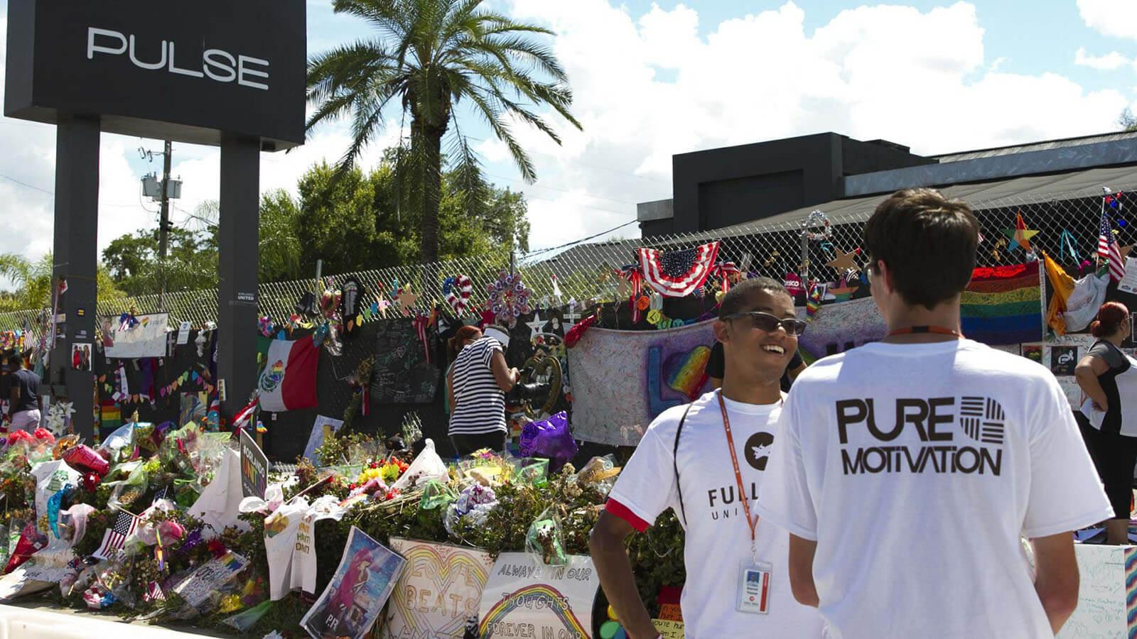 Pure Motivation Volunteers with Critical Mass in Support of PULSE Victims - Hero image