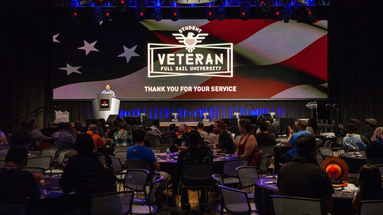 Student Veterans Honored with Thanksgiving Feast - Hero image