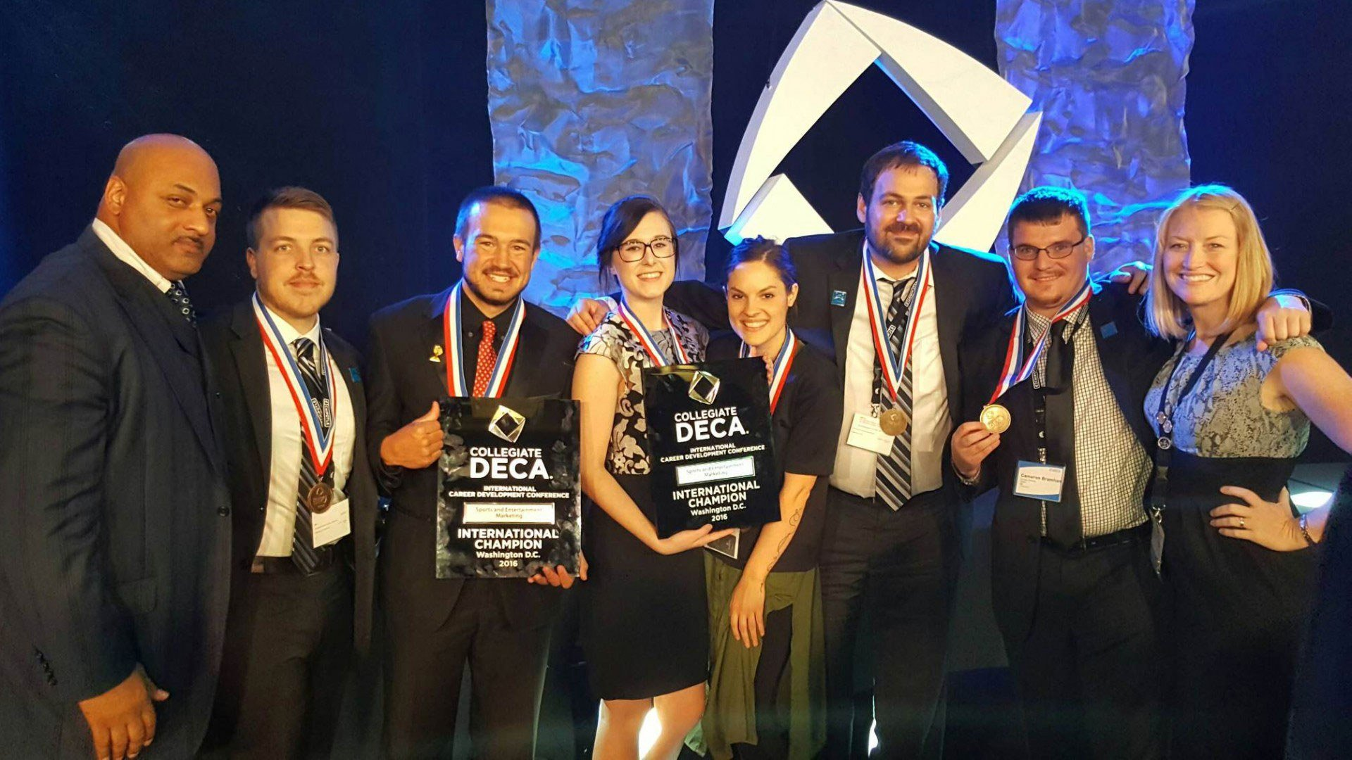 Students Finish in Top 10 at the 2016 International Collegiate DECA Competition - Hero image
