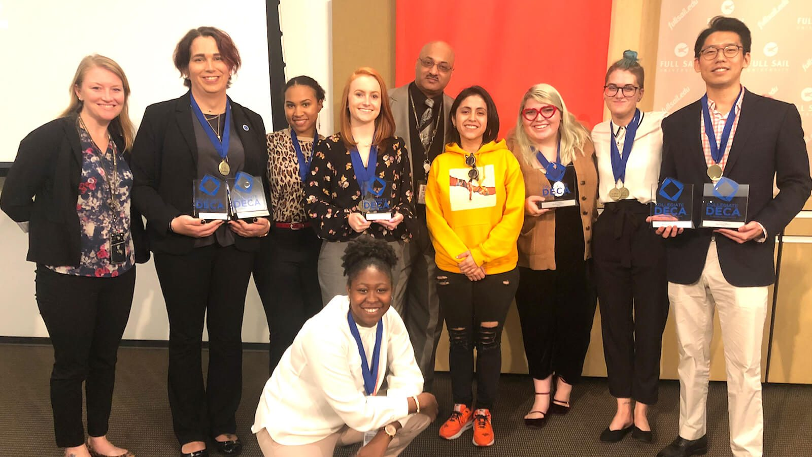 Students Take Home Top Honors at Collegiate DECA State Competition - Hero image