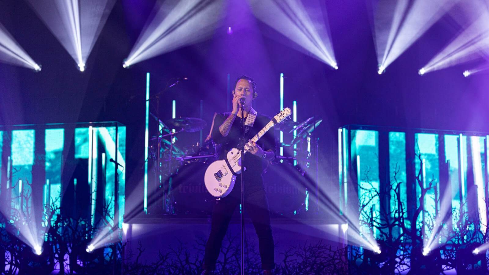 Trivium Streams Live Concert Event from Full Sail Live Venue - Hero image
