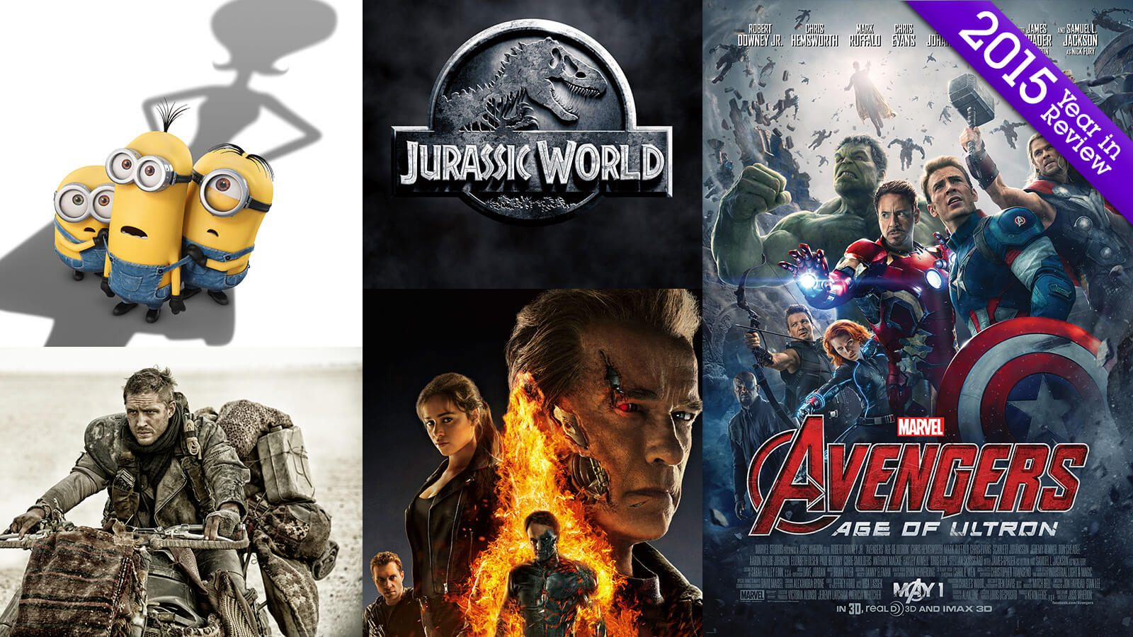 Year in Review: Grads on 2015's Biggest Movies - Hero image