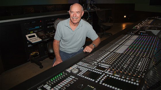 Featured story thumb - Academy Award Winning Sound Engineer Bill Benton Joins Film Production Mfa Faculty Mob