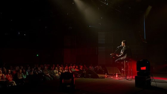 Featured story thumb - Andy Grammer Performs Live On Campus Mob