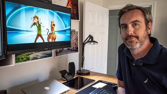Featured story thumb - Computer Animation Graduate At Reel Fx Finishes Scoob Remotely Mob