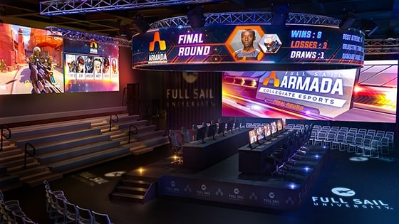 Featured story thumb - Full Sail Levels Up With Announcement Of New Esports Arena Mob