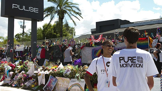 Featured story thumb - Pure Motivation Volunteers With Critical Mass In Support Of Pulse Victims Mob