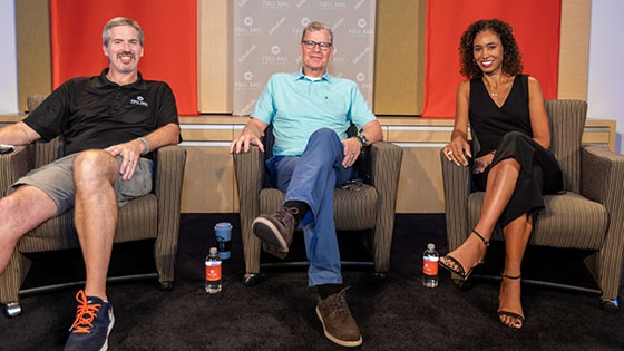 Featured story thumb - Recap Dan Patrick And Sage Steele Host Exclusive Q And A On Full Sails Campus Mob