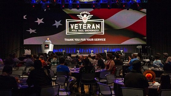 Featured story thumb - Student Veterans Feast Mob