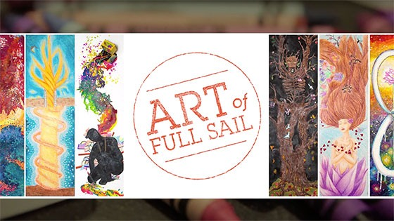 Featured story thumb - Students Use Crayola Crayons On New Full Sail Art Project Video Mob