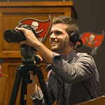 Film Grad Stephen Lynch on Working for the Tampa Bay Buccaneers - Thumbnail