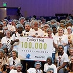 Pure Motivation Joins Local Charity to Package 100,000 Meals for Hungry Families - Thumbnail