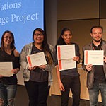 Students Honored for Contributions to UN Climate Change Project - Thumbnail