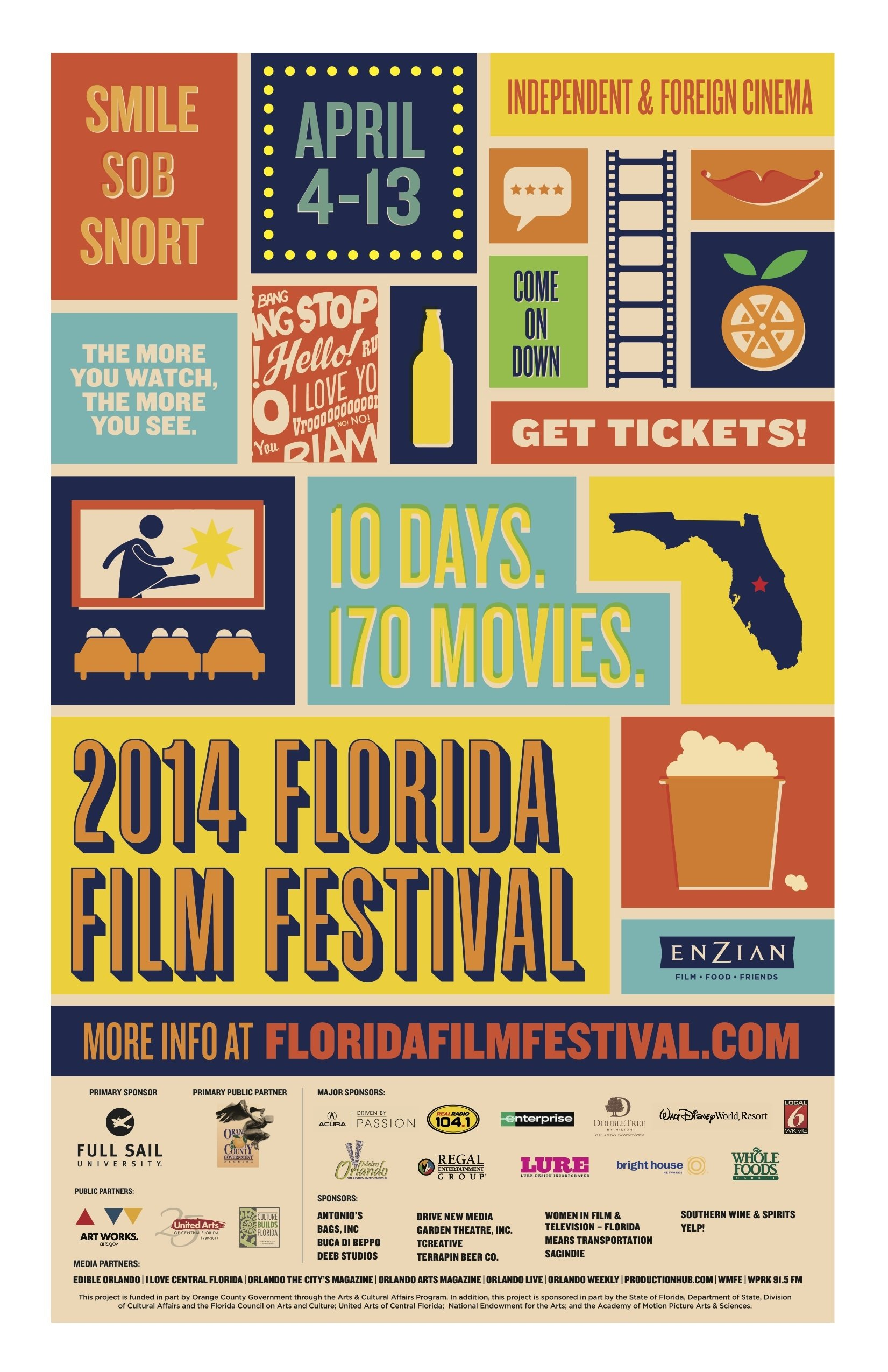 Featured image - Alumni Projects Featured At 2014 Florida Film Festival Inline