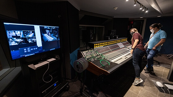 Featured image - Covid Response Recording Arts On Campus Experiences Inline 1