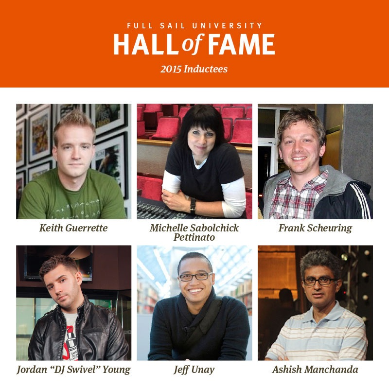 Featured image - Full Sail University Announces 7Th Annual Hall Of Fame Induction Class Inline