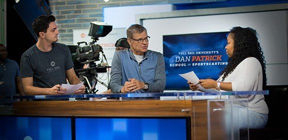 Full Sail University's Dan Patrick School of Sportscasting Bachelor's