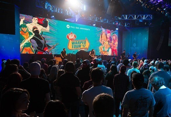 Blog Hilight - Full Sail's Campus Hosts a Wide Variety of Guests From the World of Entertainment